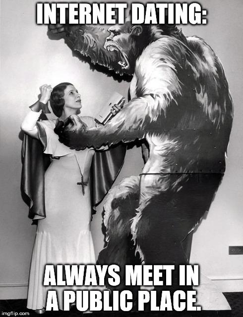 Internet dating is depressing