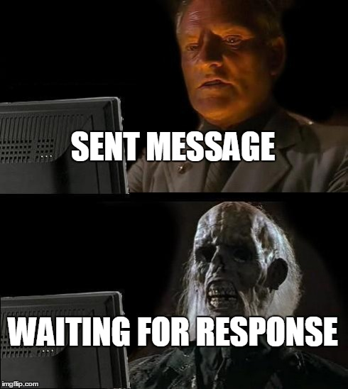 Funny I Ll Be Waiting Meme : Site unavailable