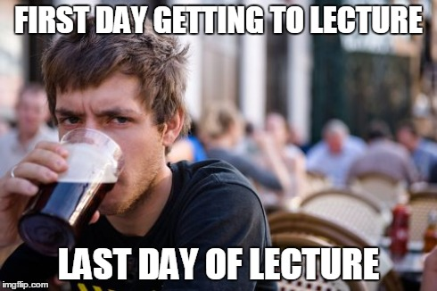 And somehow im holding a b in the class imgflip lazy college senior meme first day getting to lecture last day of lecture image thecheapjerseys Gallery