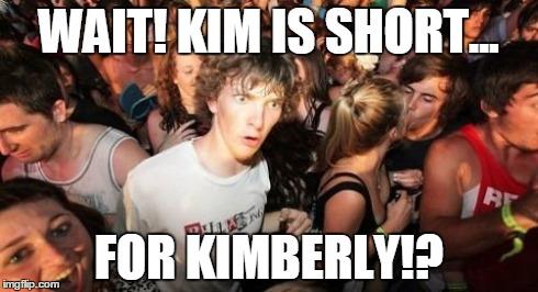 faixt sudden clarity clarence meme imgflip,Kimberly Memes