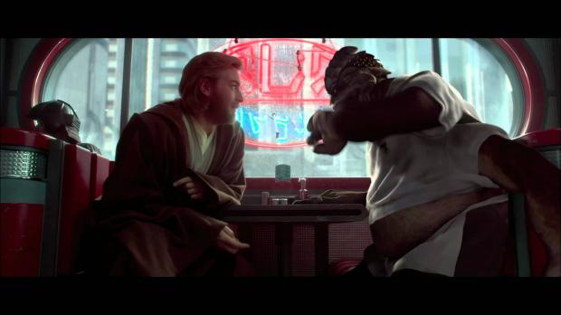 Dexter Jettster Obi Wan Blank Template Imgflip