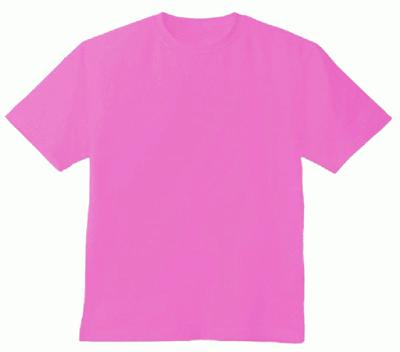 Pink tshirt blank template imgflip for Pink t shirt template