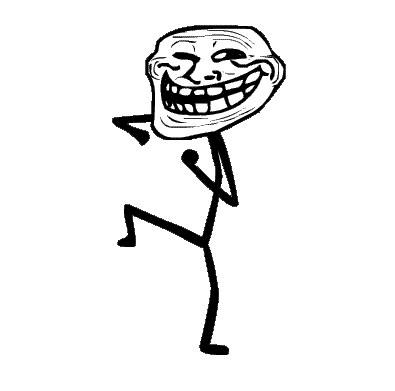 Troll Face Dancing Meme Template
