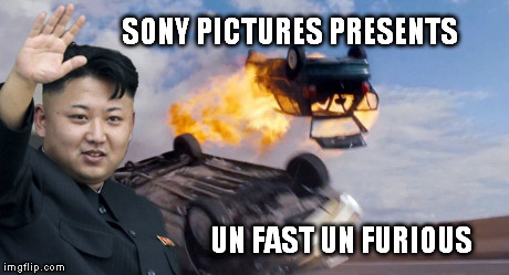 new movie ideas | SONY PICTURES PRESENTS UN FAST UN FURIOUS | image tagged in sony,kim jong un | made w/ Imgflip meme maker