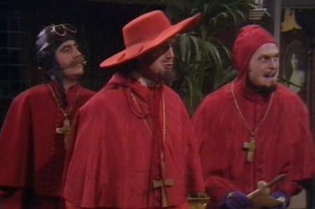 Nobody Expects the Spanish Inquisition Monty Python Blank ...