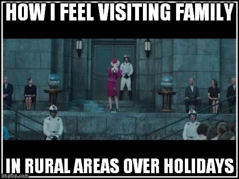 HOW I FEEL VISITING FAMILY IN RURAL AREAS OVER HOLIDAYS