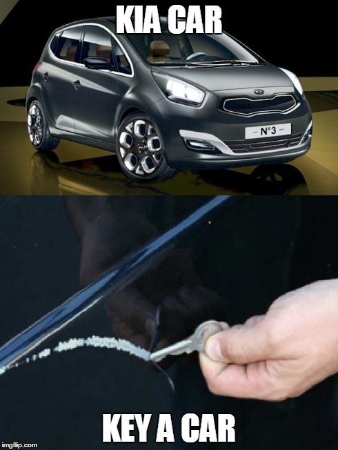 Choose your destiny | KIA CAR KEY A CAR | image tagged in memes,car | made w/ Imgflip meme maker