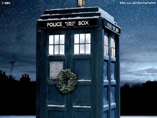 Tardis Christmas Doctor Who Blank Template - Imgflip