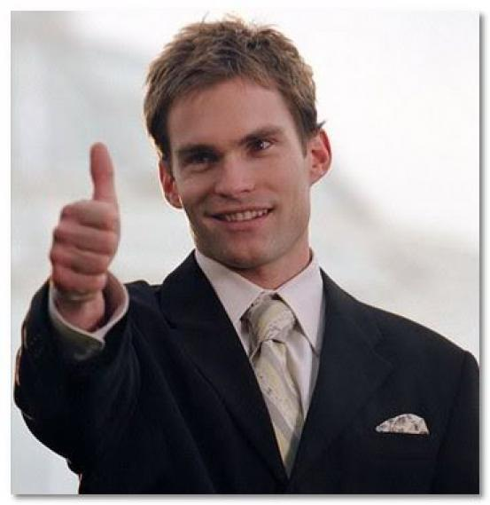 Image result for stifler thumbs up