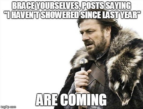happens every new years day brace yourselves posts saying i havent