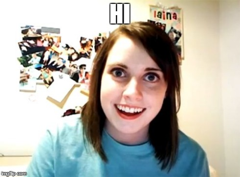 Overly Attached Girlfriend Meme | HI | image tagged in memes,overly attached girlfriend | made w/ Imgflip meme maker