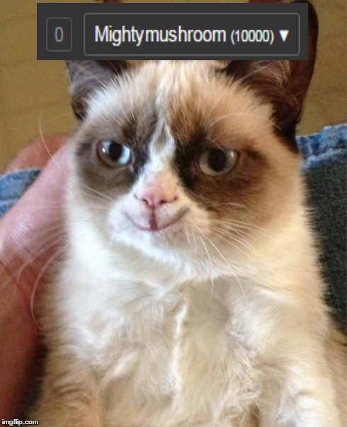 Grumpy Cat Happy | image tagged in happy grumpy cat | made w/ Imgflip meme maker