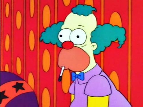 High Quality Krusty The Clown What The Hell Was That? Blank Meme Template