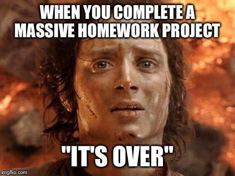 Year 3 Homework Project Meme - image 9