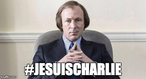 #JESUISCHARLIE | image tagged in charlie | made w/ Imgflip meme maker