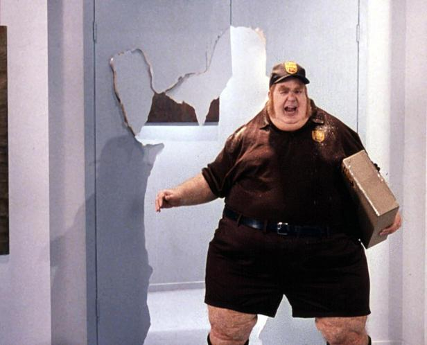 fat delivery man Blank Template - Imgflip