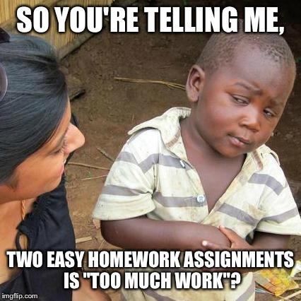 My school homework