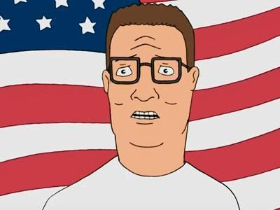 American Hank Hill Blank Template Imgflip