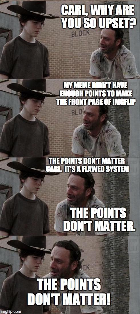 gk0l1 rick and carl long meme imgflip,Carl Rick Meme