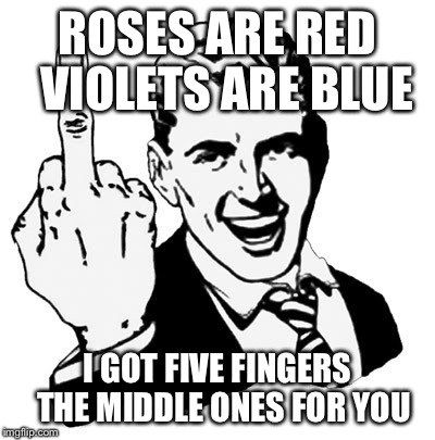 gpswq 1950s middle finger meme imgflip