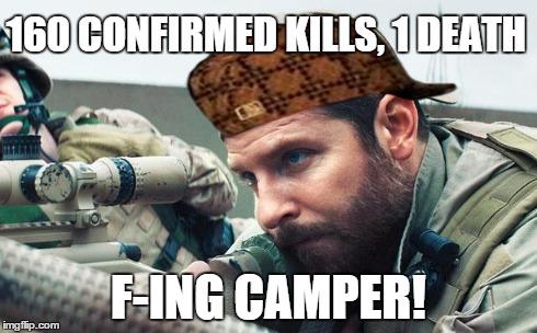 gsa0q image tagged in scumbag,camper,cod,sniper,quickscope,american