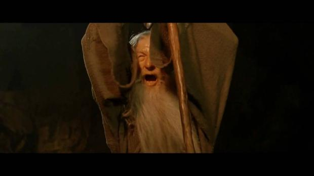 You Shall Not Pass - Gandalf Meme Template