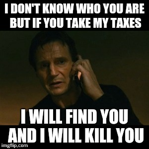 Liam Neeson Taken Meme - Imgflip