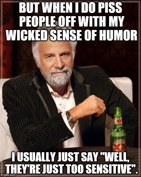 sensitive guy jokes about dating