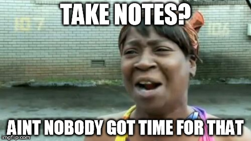 Image result for notes meme