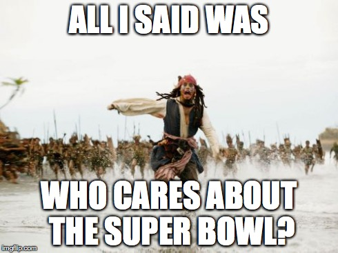 Image result for super bowl who cares