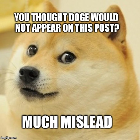 Doge Meme | YOU THOUGHT DOGE WOULD NOT APPEAR ON THIS POST? MUCH MISLEAD | image tagged in memes,doge | made w/ Imgflip meme maker