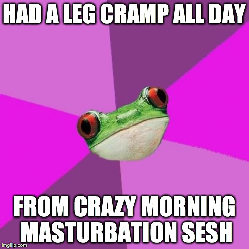 h7mlh i realized why i was limping around yesterday imgflip,Limping Meme