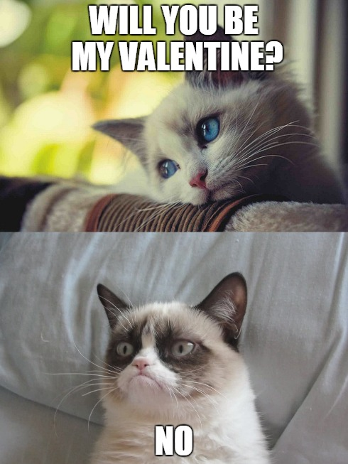 grumpy cat valentine - Grumpy Cat Valentine