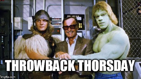 THROWBACK THORSDAY | image tagged in tbt,throwback,thorsday,puns | made w/ Imgflip meme maker