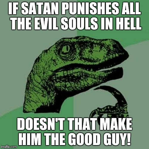 hejyo good guy satan! imgflip