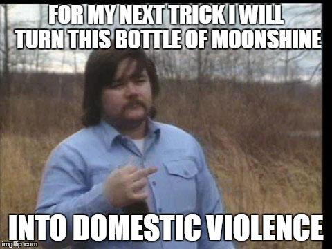 Funny domestic violence demotivational