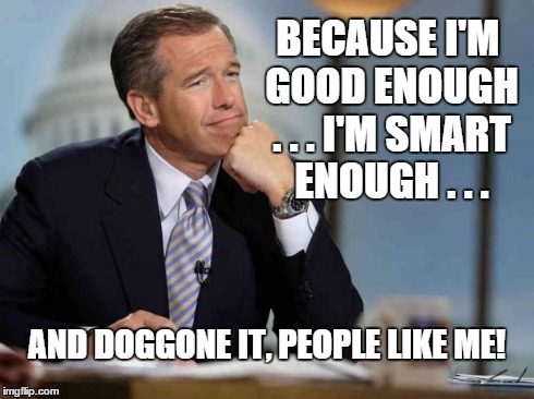 but enough about you brian williams Brian williams will be a breaking news reporter for msnbc  to the nightly  news desk (now anchored by lester holt), but he will be  williams is smart  enough to know it would be foolish to intentionally  you might also like.