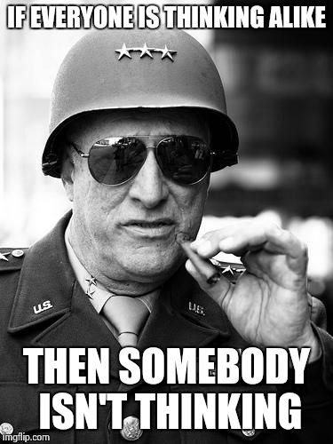 Gen George Patton Meme Generator Imgflip