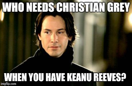 Keanu reeves meme in your dreams