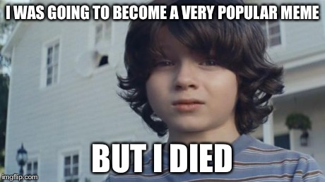 But I Died | I WAS GOING TO BECOME A VERY POPULAR MEME BUT I DIED | image tagged in but i died | made w/ Imgflip meme maker