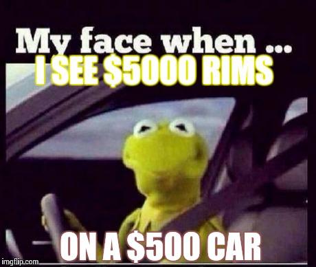 Rims On Car App >> Kermit - Imgflip