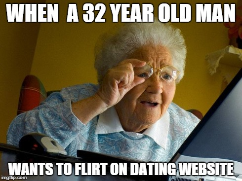 Dating a old man meme