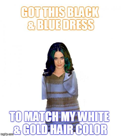 Color dress meme