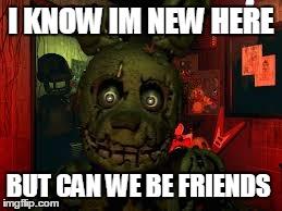 fnaf meme friendships enemies - photo #19