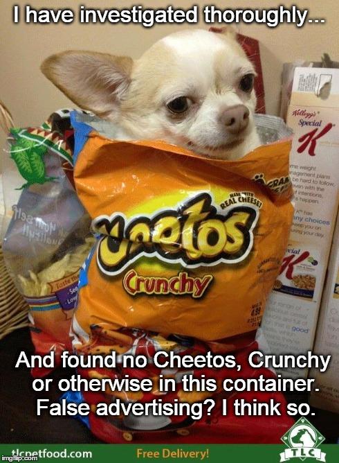 Dog Food False Advertising