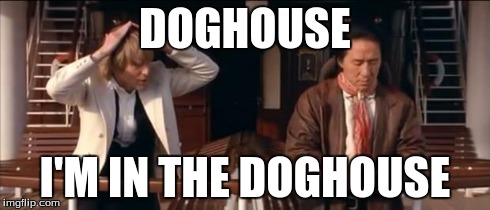 iiru8 in the doghouse imgflip,Doghouse Meme
