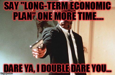 long term economic pla...