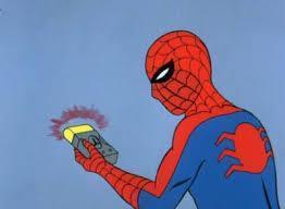 Spiderman Detector Blank Template - Imgflip