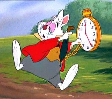 Im Late White Rabbit