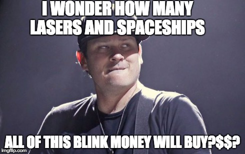 """Is Tom Delonge """"Out Of His Mind""""? Iobup"""